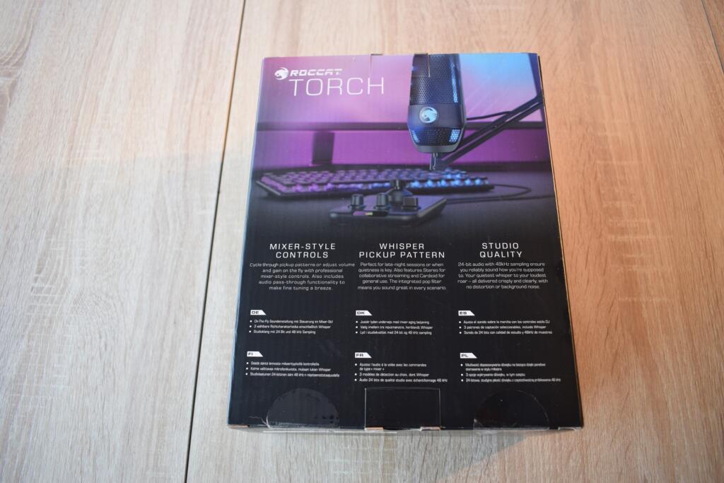 caja roccat torch