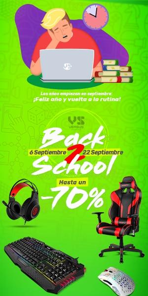 Campaña Back to School de VS Gamers