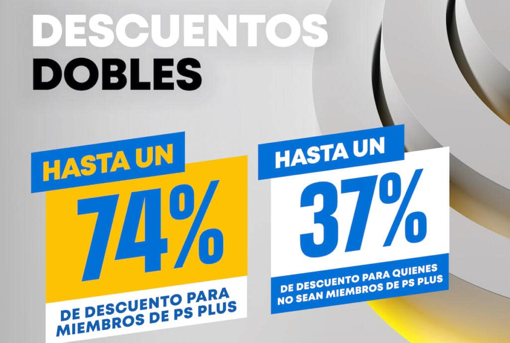 Descuentos Dobles de PlayStation Plus