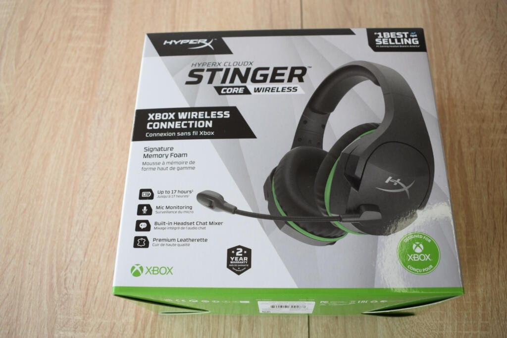 hyperx cloudx stinger core wireless